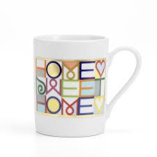 Porcelain Coffee Mugs Home Sweet Home Coffee Mug By Vitra
