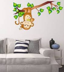 monkey wallpaper for walls online shopping india buy mobiles electronics appliances