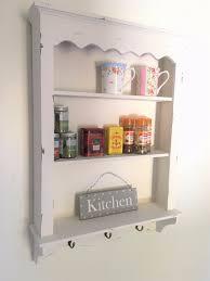 Shabby Chic Kitchen by Shabby Chic Kitchen Wall Unit Shelf Cabinet