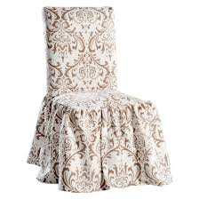 damask chair damask dining chair slipcover target