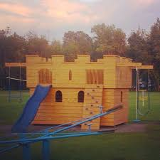 kids play castle by north country sheds kids backyard play sets