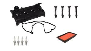 nissan altima 2005 lowering springs valve cover gasket kit with spark plug u0026 coil connectors for