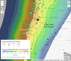 Oregon Earthquake Map by Earthquake News Temblor Net Part 2