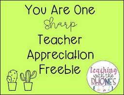 appreciation cards cactus appreciation cards by teaching with the rhones tpt