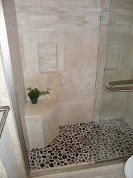 cheerful designs ideas with natural stone bathroom tiles