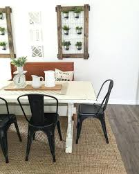 farmhouse style dining room table white rustic farmhouse dining table rustic modern farmhouse with