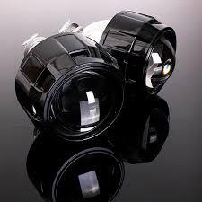nissan juke xenon headlights bi xenon projector angel eyes ebay