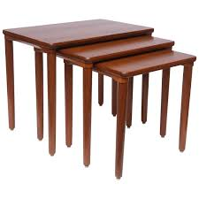 danish teak nesting tables by ew bach 1960s denmark for sale at
