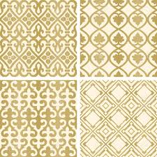 ottoman with patterned fabric vector seamless tiling patterns gold ottoman ornaments for