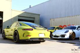 porsche 911 r wingless wednesdays pts lindgrün porsche 911 r arrives at bbi