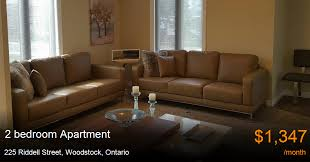 2 Bedroom Apartments Woodstock Ontario 225 Riddell Street Woodstock Apartment For Rent B120776