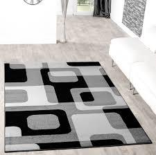 Wohnzimmer Teppiche Modern Wohnzimmer Modern Schwarz Weiß U2013 Versammeln