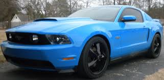 blue mustang should i black out my 2011 grabber blue mustang page 2 ford