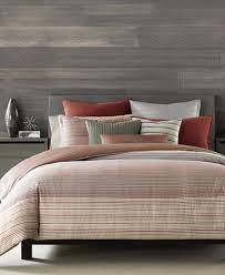 Striped Comforter Hotel Collection Modern Geo Stripe Bedding Collection Created For