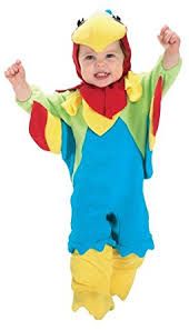 Newborn Boy Halloween Costumes 0 3 Months Amazon Rubie U0027s Costume Ez Romper Costume Parrot 6 12