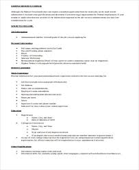 resume format doc 56 resume formats free premium templates