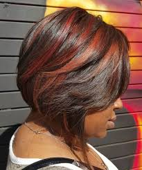 grow hair bob coloring 60 showiest bob haircuts for black women red balayage dark hair
