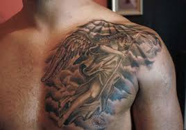 angel chest tattoo designs ideas and meaning tattoos for you