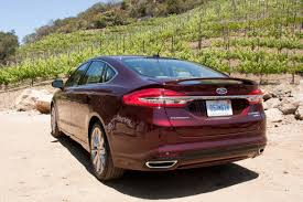 ford fusion 2017 ford fusion and fusion hybrid first drive news cars com