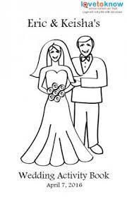 printable wedding activity book for kids lovetoknow