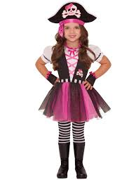 girls pirate caribbean princess fancy dress party costume child