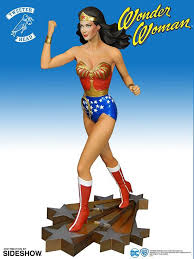 dc comics woman maquette tweeterhead sideshow collectibles