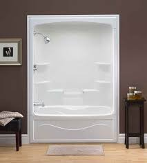 Fiberglass Bathroom Showers Wonderful Cost To Replace Fiberglass Tub With Tile Gbcn For And