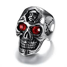 cool skull rings images Wholesale stainless steel mens cool skull rings jc fashion jewelry jpg
