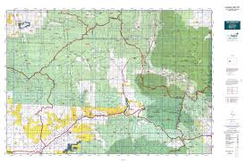 Colorado Elevation Map by Colorado Gmu 521 Map Mytopo
