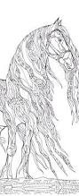 horse coloring pages adults 224 coloring