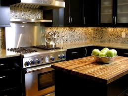 black cabinet kitchen ideas kitchen illuminated black kitchen cabinet with ceramic tile