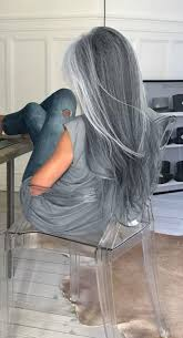 best way to blend gray hair into brown hair best 25 long silver hair ideas on pinterest silver blonde hair