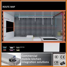 cuisine mobile professionnelle cuisine professionnel de fabrication de mobiles contenant de
