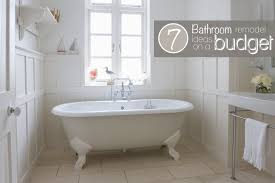 Bathroom Remodel On A Budget Ideas Colors Update Old Bathroom On A Budget Bathroom Trends 2017 2018