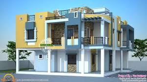 Modern Duplex House Plans by Modern Duplex House In India Kerala Home Design Bloglovin U0027