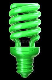 eco friendly light bulbs efficiency and eco friendly technology green light bulb stock