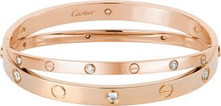 cartier jewelry bracelet images Crn6709617 love bracelet pink gold diamonds cartier png