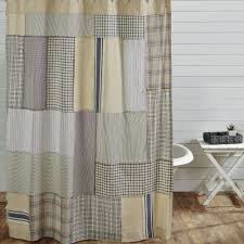 country shower curtains mill creek patch 72 x 72