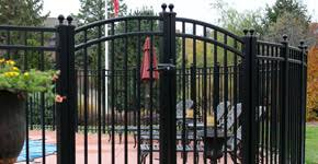 affordable beautiful high quality aluminum iron fencing