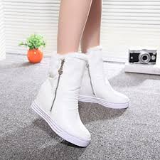 womens fashion boots nz s shoes nz winter warm wedge heel toe fashion boots