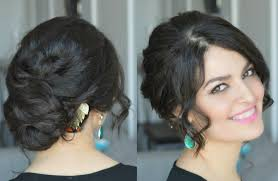 wavy low bun party hairstyle wedding hairstyle youtube