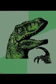 Meme Generator Velociraptor - laughing philosoraptor blank template imgflip