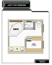 Bathroom And Closet Floor Plans  Bathroom Design X Size - Master bathroom design plans