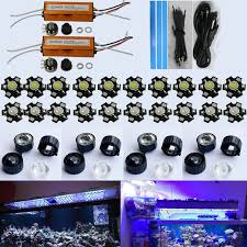 led aquarium lights for reef tanks 30w 60w 90w 120w 150w diy led aquarium light kit 20 3w for coral