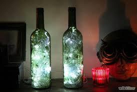 Wine Bottles With Lights 13 Gorgeous Ways To Repurpose Glass Bottles Tiphero