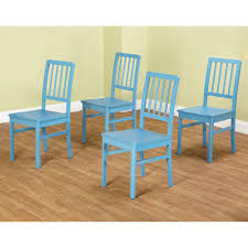 Dining Room Chairs Set Of 4 Amazon Com Tms Camden Dining Chair Blue Set Of 4 Chairs