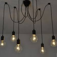 industrial chic chandelier painted bronze by urbanchandy on etsy