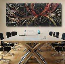 2017 modern abstract painting metal wall art sculpture wall