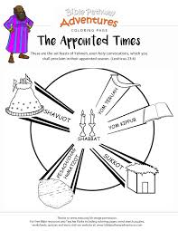 bible coloring page the appointed time free download