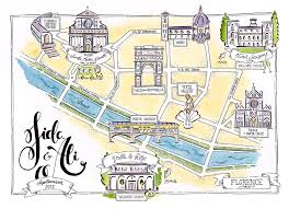 Florence Colorado Map by Lucia Soto Romanzo Fiorentino